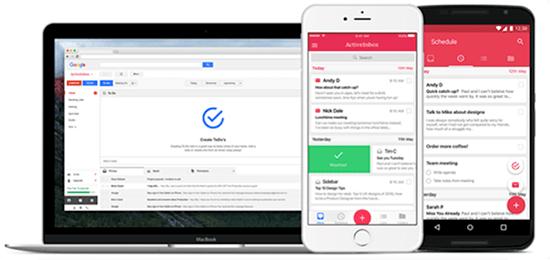 Screenshot of Active Inbox
