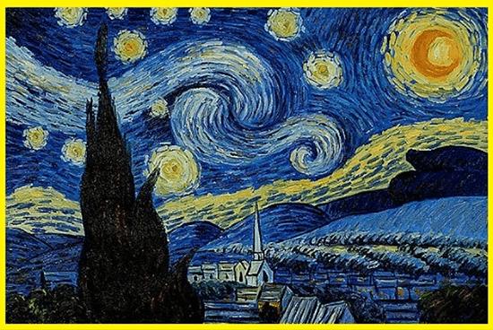 Van Gogh's Starry Night painting