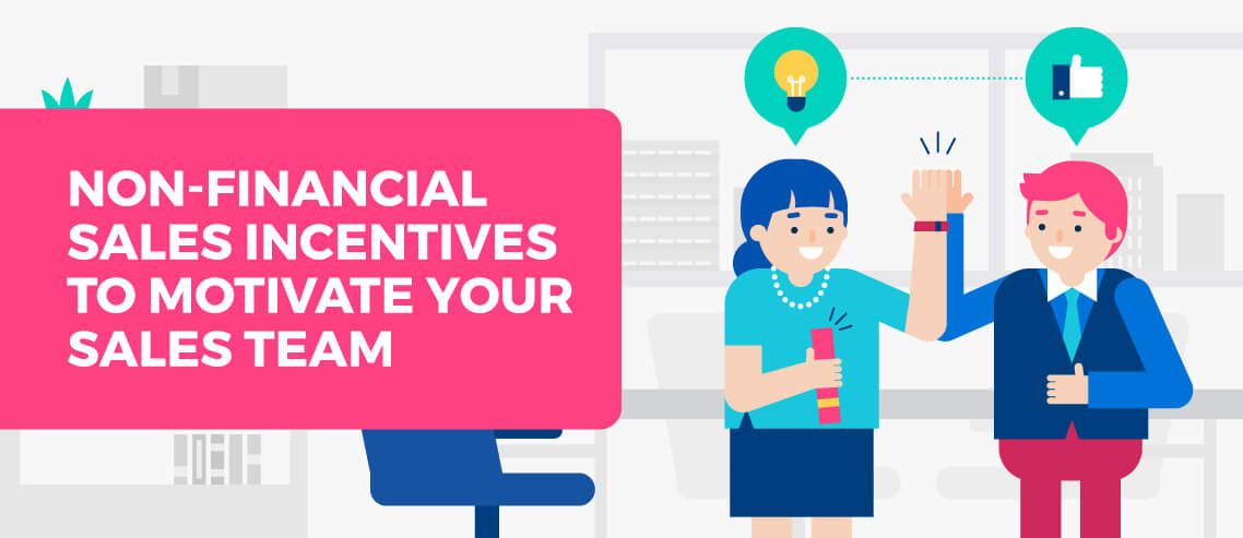 Title card - Non-financial sales Incentives to Motivate Your Sales Team
