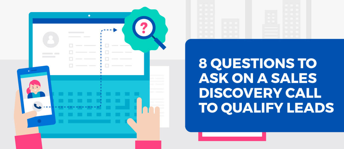 Title card - Sales Discovery Call questions to ask on your next sales call