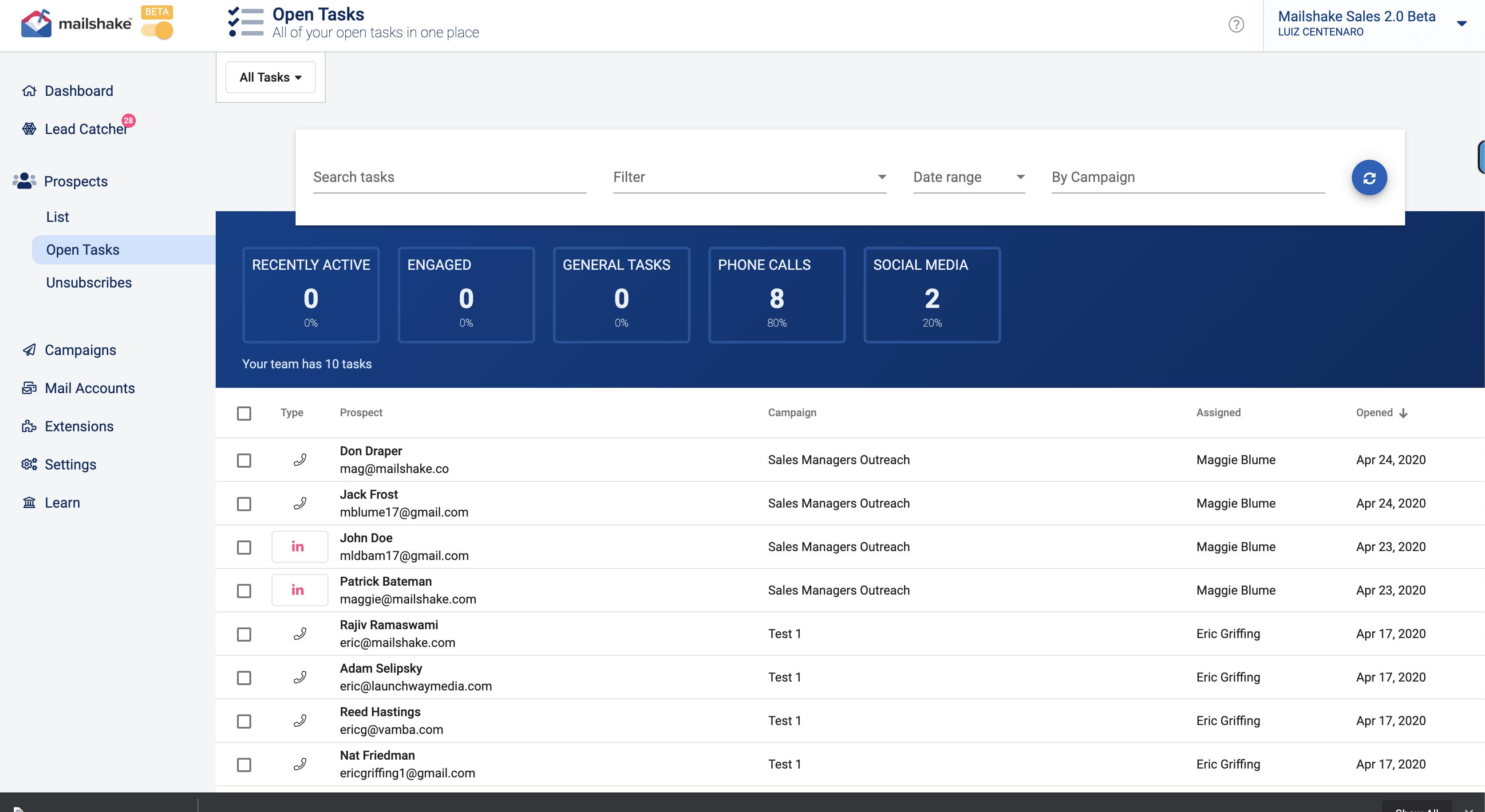 mailshake beta